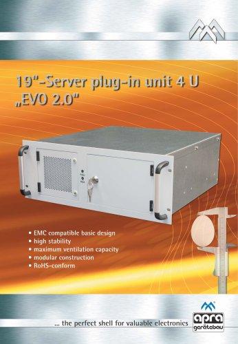 "19""-Server plug-in unit EVO 2.0"