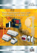 radaplast = panel instrument cases and enclosures for top hat rail