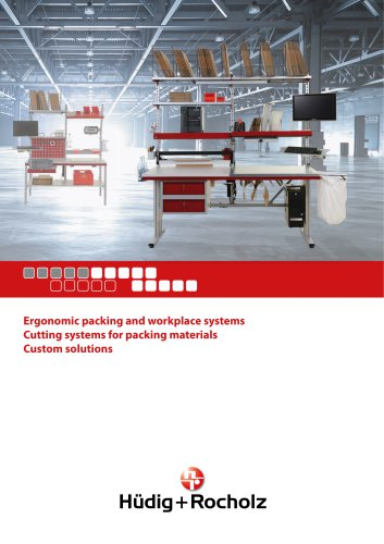 Ergonomic packing and workplace systems