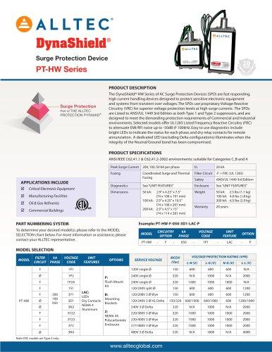 DynaShield PT-HW Series