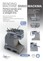 Bending machine BM60