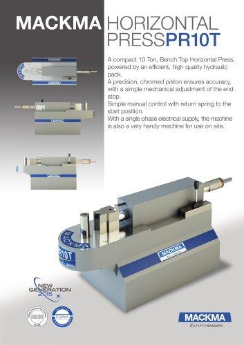 Horizontal Press PR10T