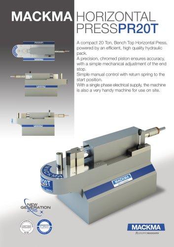 Horizontal Press PR20T