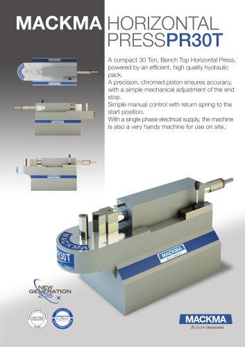 Horizontal Press PR30T