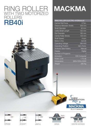RB 40I BENDING MACHINE