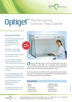 Optigel The Horizontal Laminar Flow Cabinet
