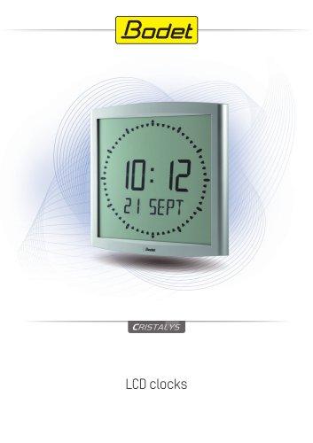 Cristalys - LCD Digital Clock