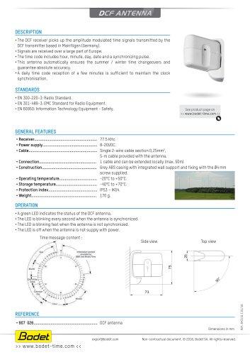 DCF-antenna