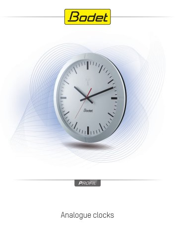 Profil 900 - Analogue Clock