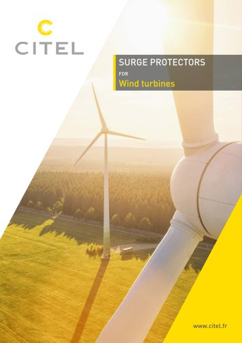 Surge Protectors for WindTurbines