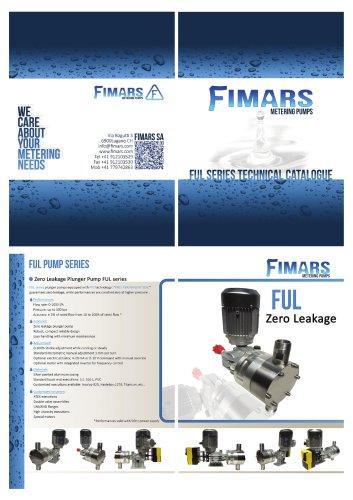 Ful Series - Plunger Pump