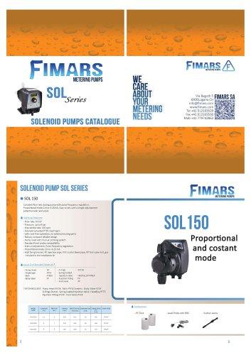 SOL series solenoid pumps