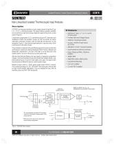 SCM7B37 Non-Linearized Isolated Thermocouple Input Modules
