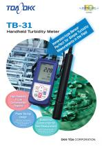 Handheld turbidity meter TB-31