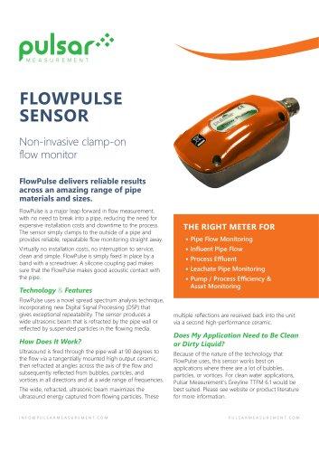 FlowPulse Flow Sensor and Flow Monitor