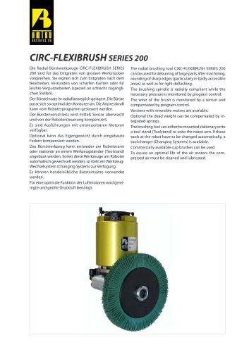 CIRC-FLEXIBRUSH series 200