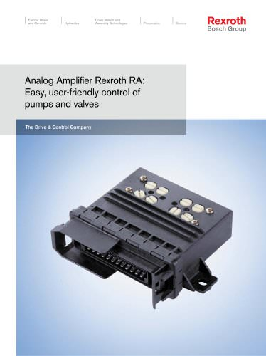 Analog Amplifier Rexroth RA