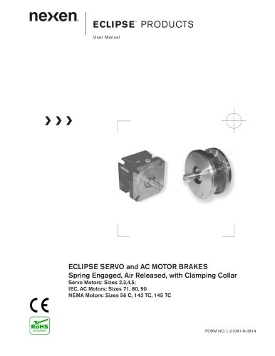 ECLIPSE PRODUCTS User Manual