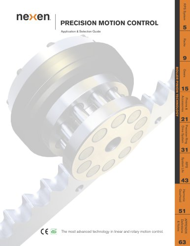 Precision Linear & Rotary Positioner Catalog
