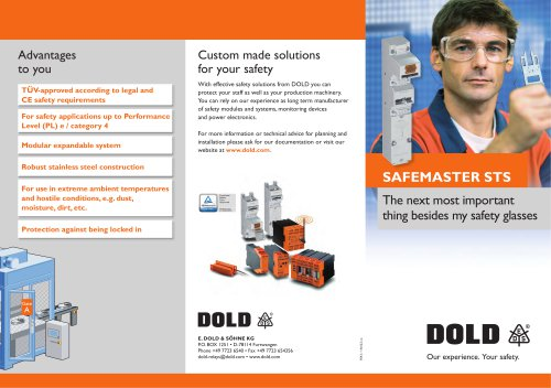 Flyer SAFEMASTER STS