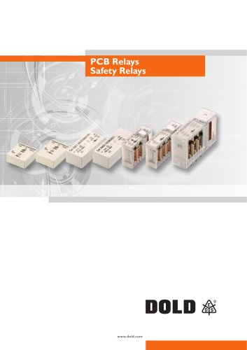 PCB Relays  Safety Relays