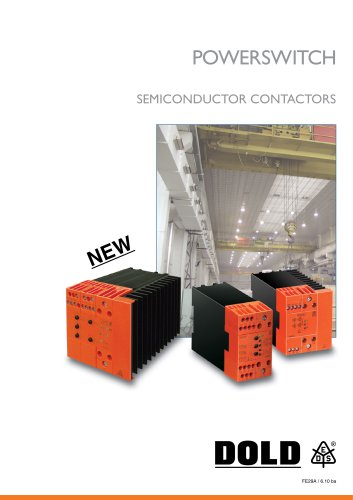 Product overview Semiconductor Contactors