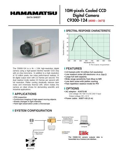 10M-pixels Cooled CCD Digital Camera  C9300-124
