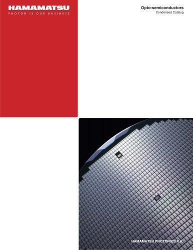 Condensed catalog / Opto-semiconductors