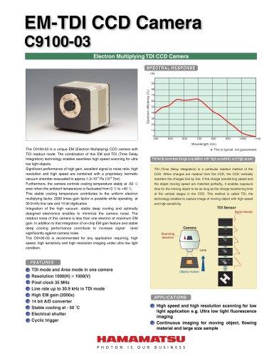 EM-TDI CCD Camera  C9100-03