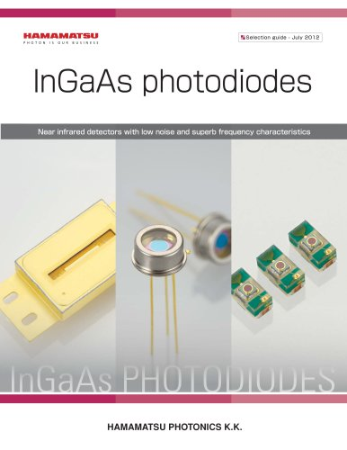 InGaAs Photodiodes