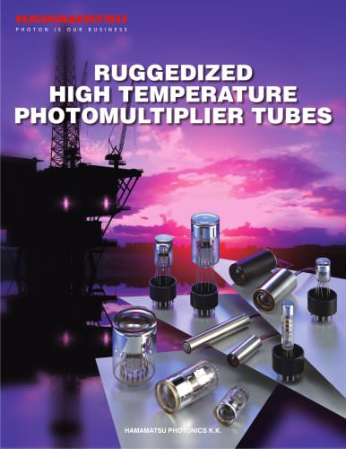 RUGGEDIZED HIGH TEMPERATURE PHOTOMULTIPLIER TUBES