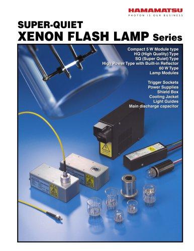 Super-Quiet Xenon Flash Lamp Series