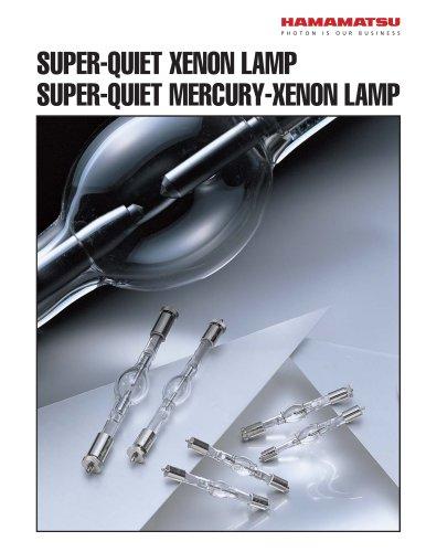SUPER-QUIET XENON LAMP SUPER-QUIET MERCURY-XENON LAMP