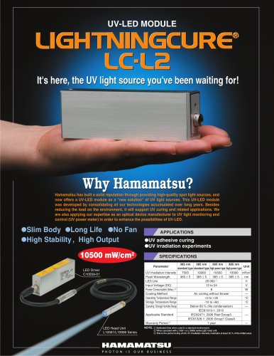 UV-LED MODULE LIGHTNINGCURE LC-L2