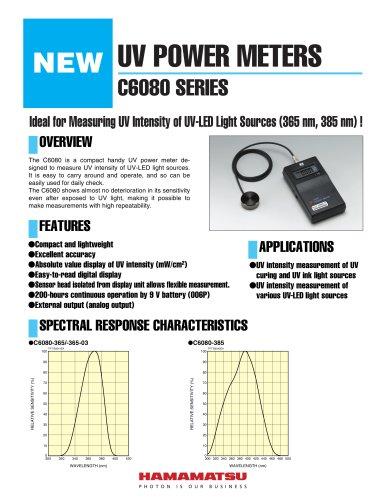 UV POWER METERS C6080 SERIES