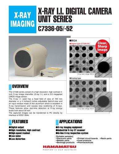 X-RAY I.I. DIGITAL CAMERA UNIT SERIES C7336-05,C7336-52