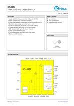 iC-HB    Triple 155 MHz Laser Switch