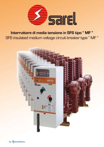 circuit breakers MF SF6 insulated 12-24KV