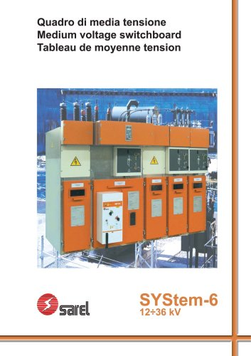 switchboards SYStem-6 SF6-aria 12-36KV