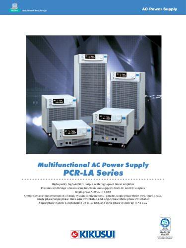 Linear AC power supply / PCR-LA Series