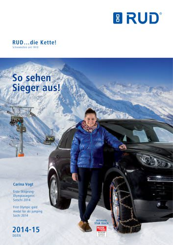 Snow Chains Catalog 2014/2015