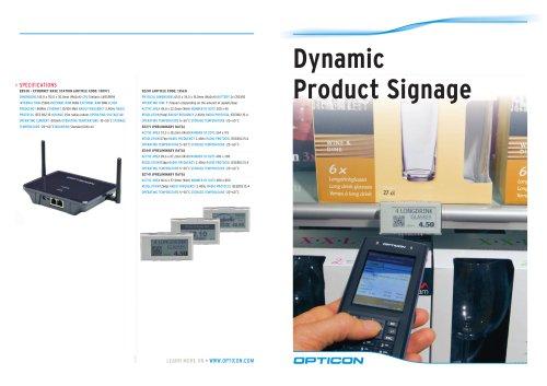 EE201 Dynamic Product Signage