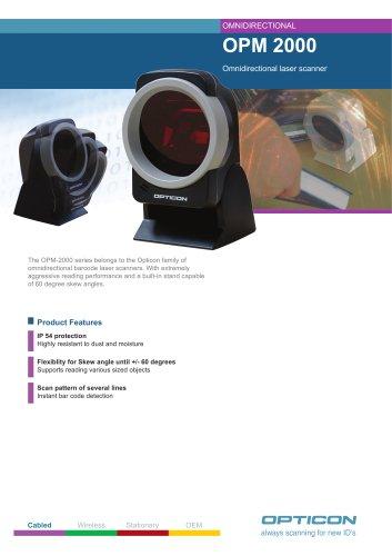 OPM 2000 Omnidirectional laser scanner