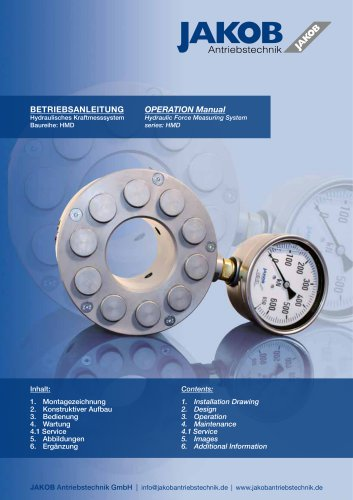 HMD Operational manual german/english