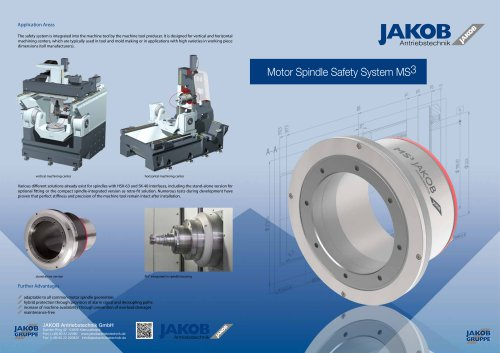 Motor Spindle Safety System MS³