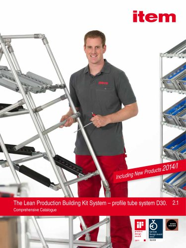 The Lean Production Building Kit System - profile tube system D30
