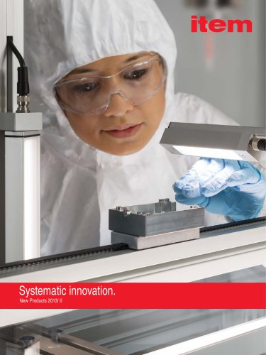 New Products 2013/2 Systematic innovation