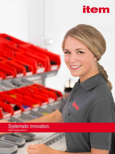 New Products 2014/2 Systematic innovation