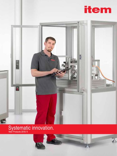 New Products 2015/2 Systematic innovation