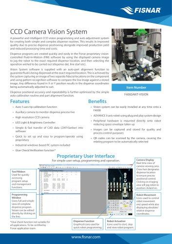 CCD Camera Vision System